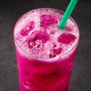 Mango Dragonfruit Starbucks Refreshers Beverage Kosher