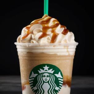 Ultra Caramel Frappuccino Kosher Starbucks